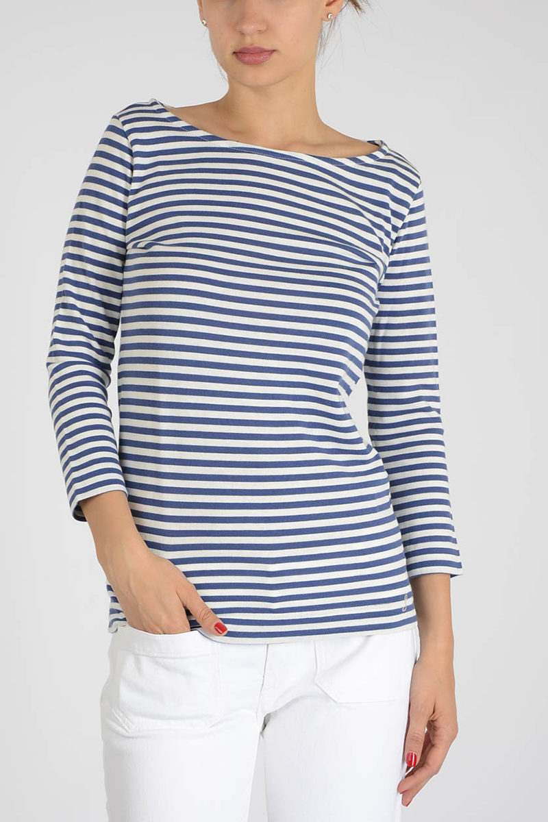 0f95f01e84 The Seafarer Long Sleeves Striped ANGEL Top women - Glamood Outlet