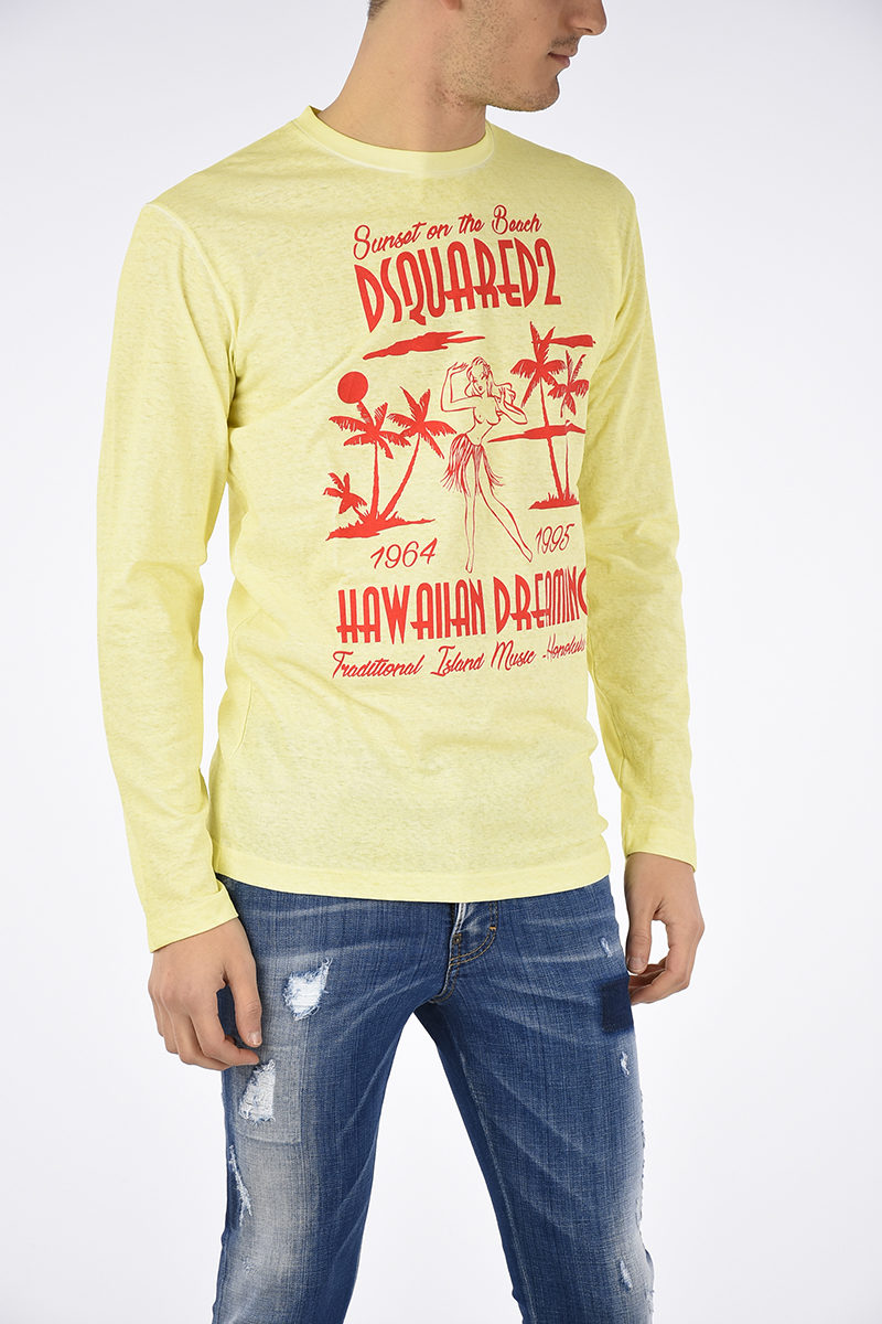 0ccd73e6 Dsquared2 Long Sleeves T-shirt men - Glamood Outlet
