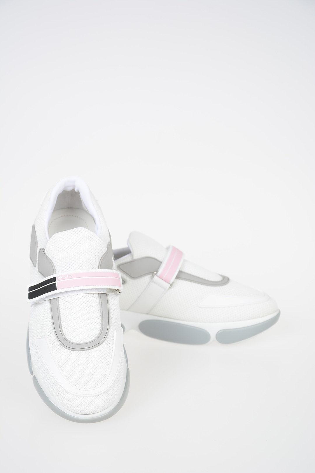 Prada Low Sneakers with Velcro Closure