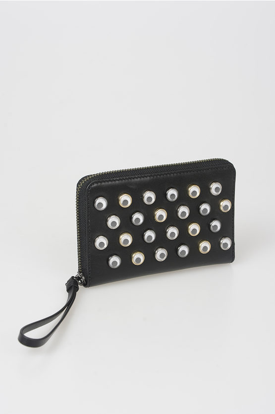 MARC Leather Wallet with Stud