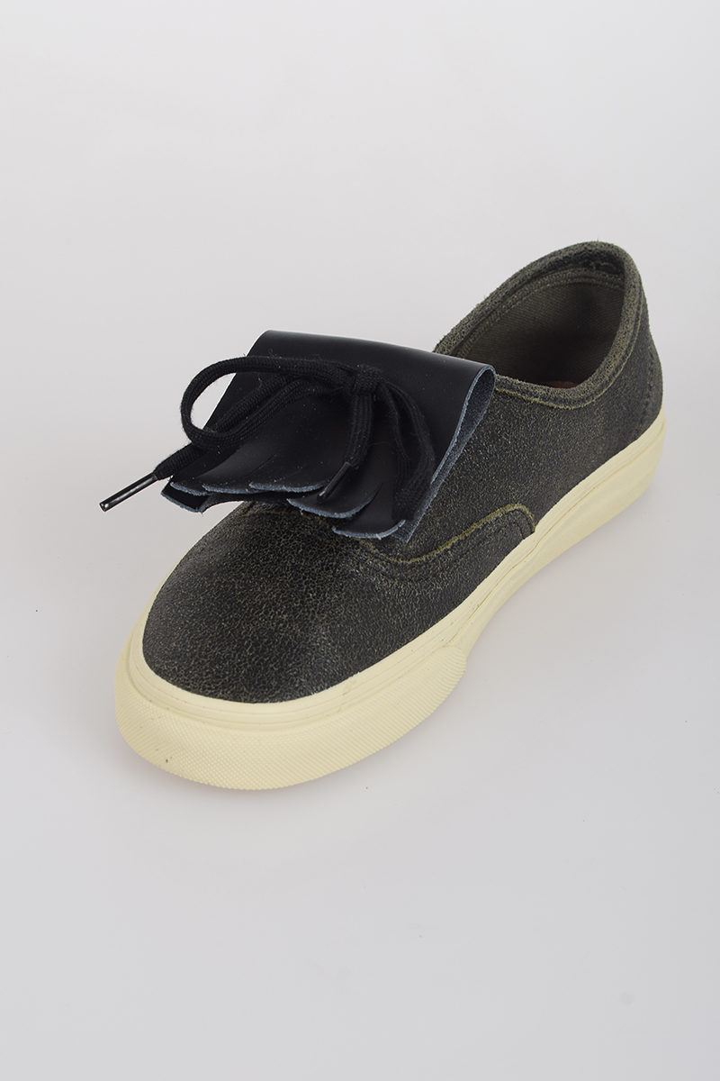 a17c3884a18 Vans MARNI Leather Sneakers - Glamood Outlet