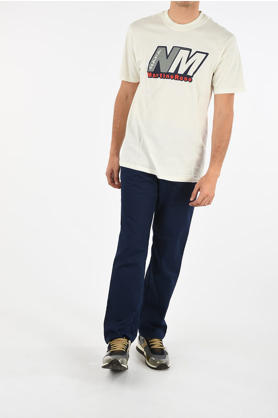MARTINE ROSE T-shirt S-CENIS with Print