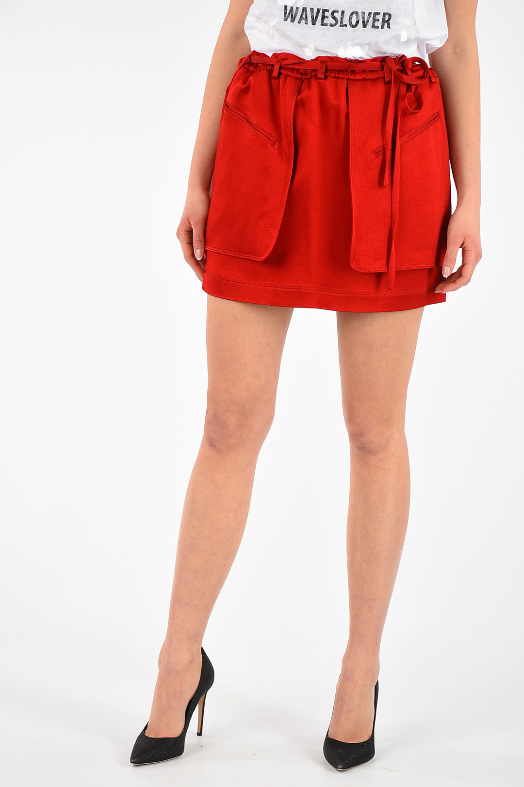 295174631 Valentino Mini Skirt with Belt women - Glamood Outlet