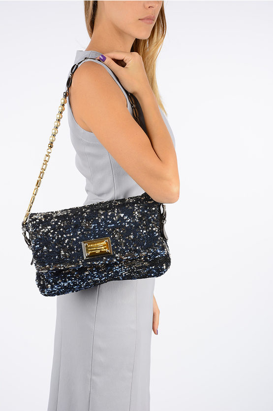 MISS CHARLES Sequined Bag