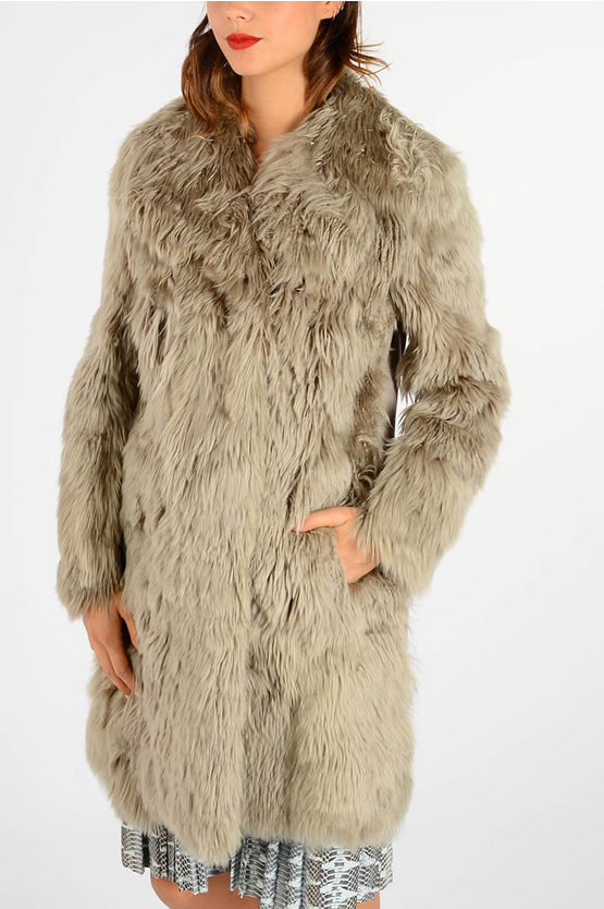 MM1 Alpaca Real Fur Coat