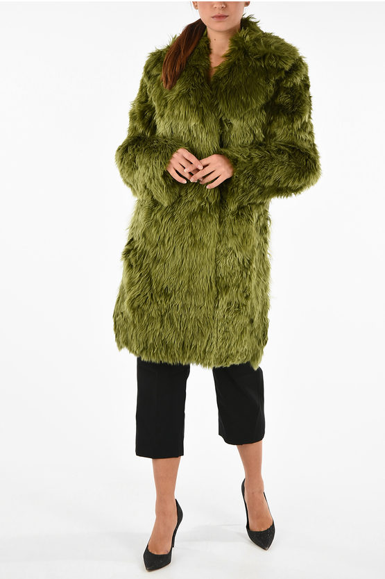 MM1 Alpaca Real Fur Coat