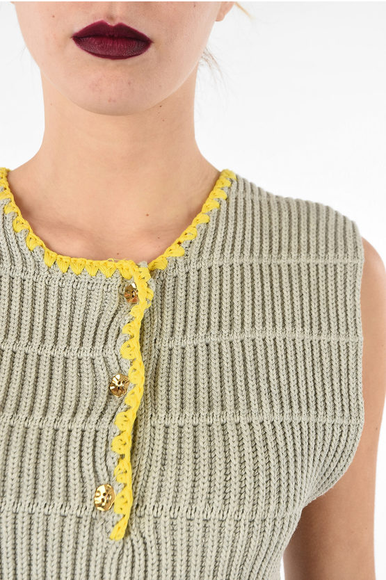 MM1 Knitted Sleeveless Top