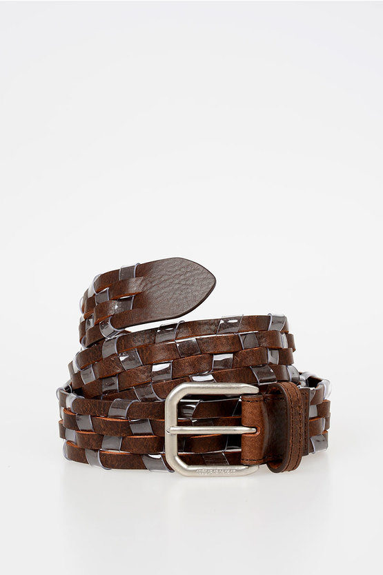 MM11 35mm Braid Leather Belt
