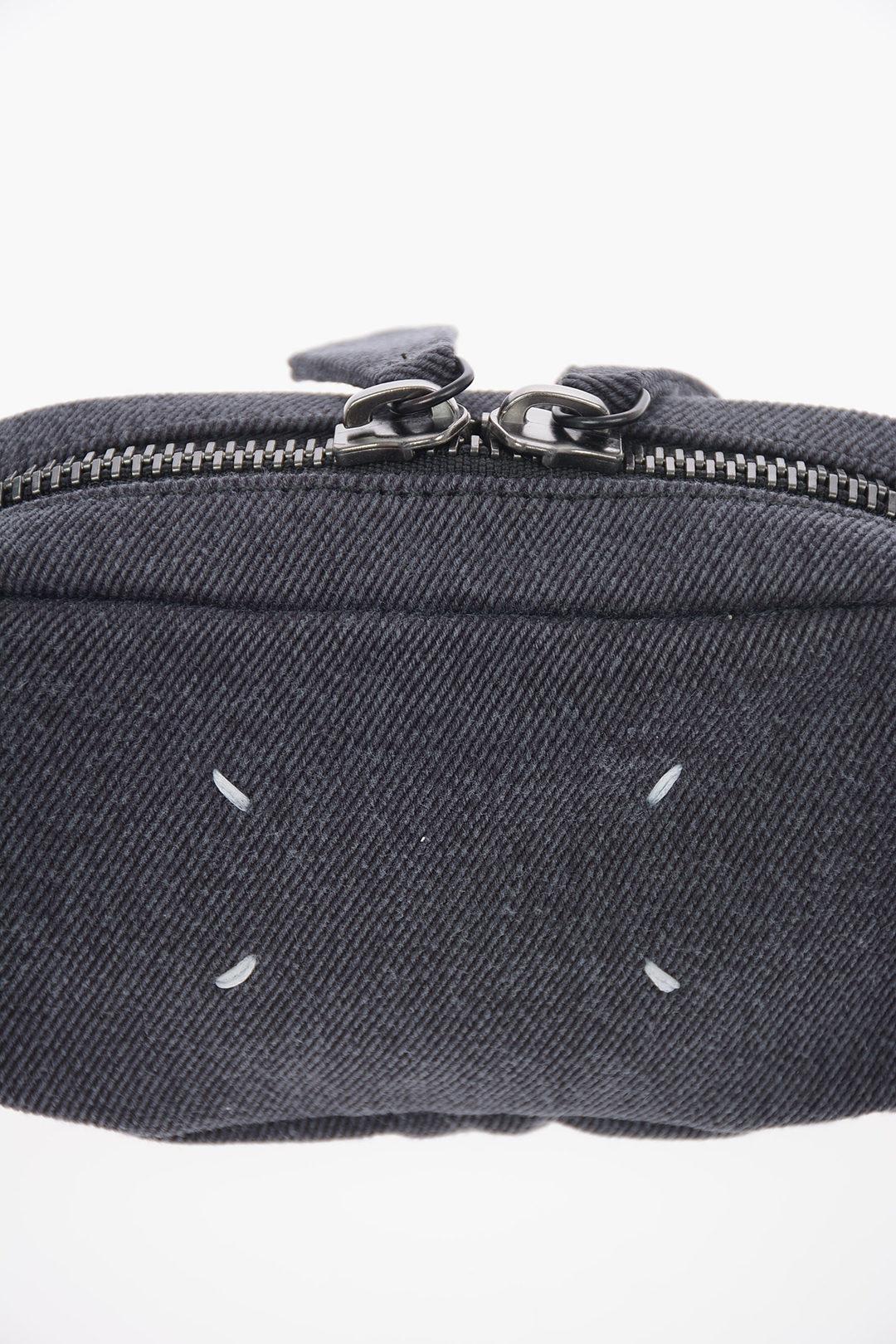 LOUIS VUITTON Monogram Denim Bum Bag Blue 526803