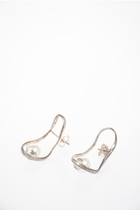 MM11 Earings with Pearl
