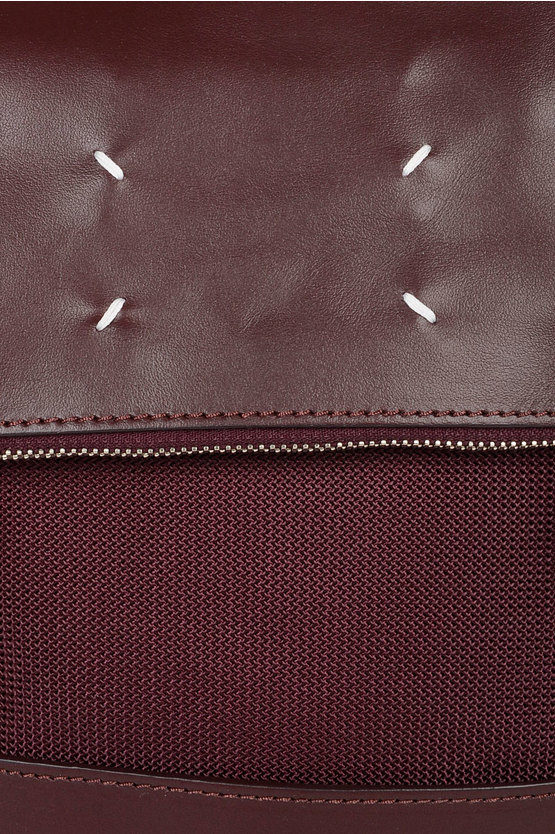 MM11 Fabric and Leather Back Pack
