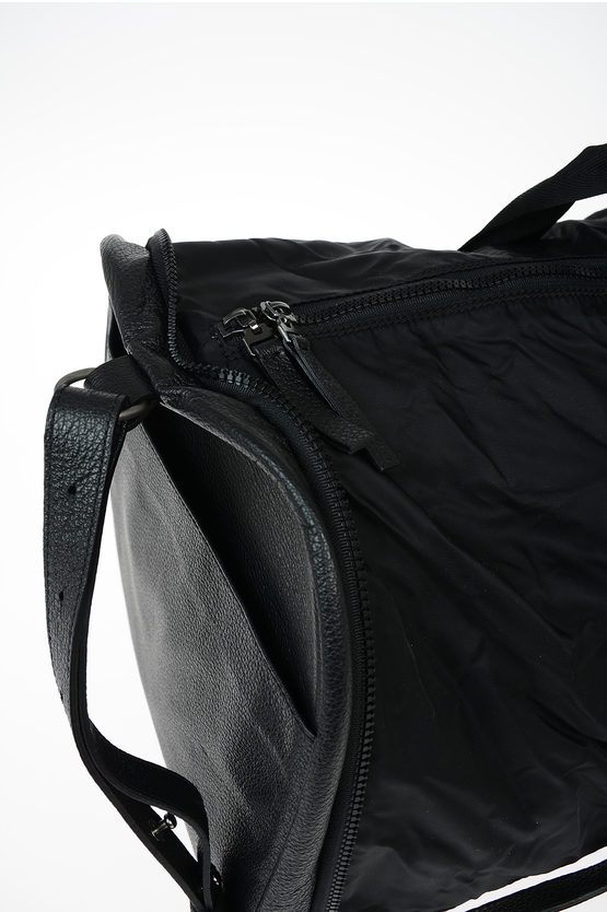 MM11 Leather and Fabric Weekend Duffel Bag