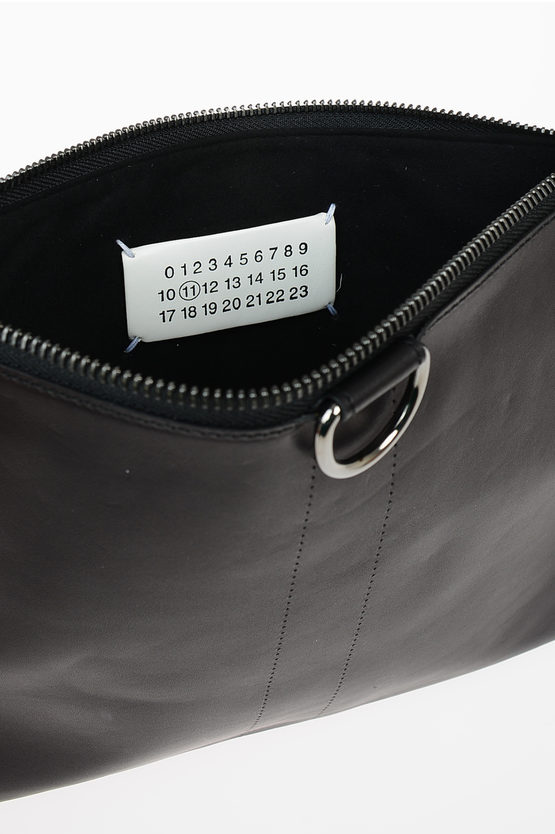 MM11 Leather and Fur Pochette