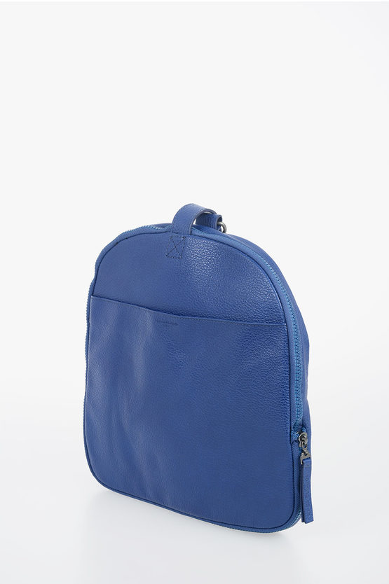 MM11 Leather and Nylon Duffle Bag