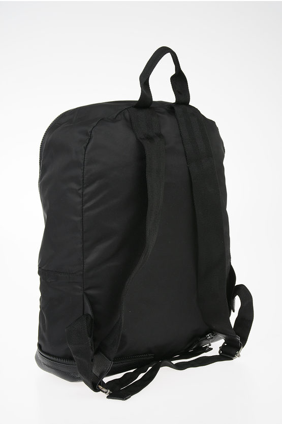 MM11 Leather Details Backpack