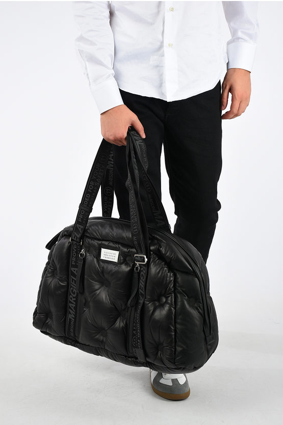MM11 Leather Duffle Bag