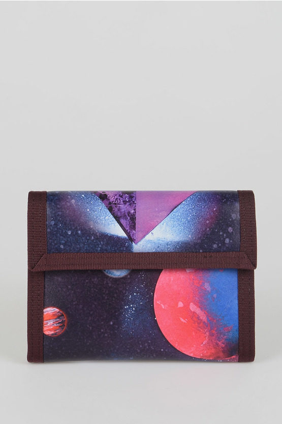 MM11 Leather Fabric Wallet