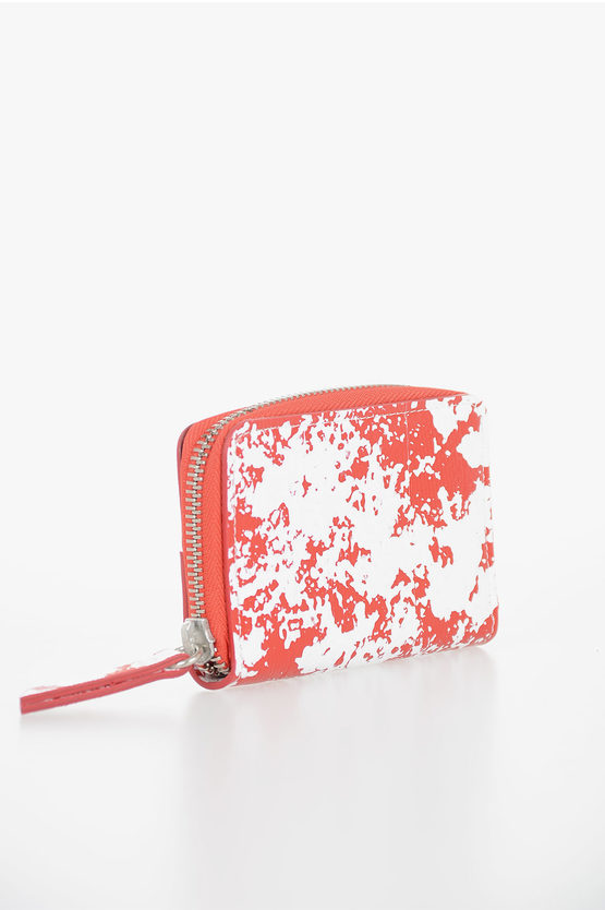 MM11 Leather Printed Card Holder