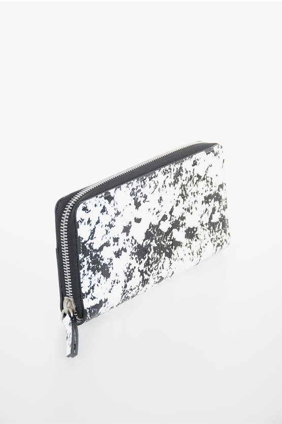 MM11 Leather Printed Wallet