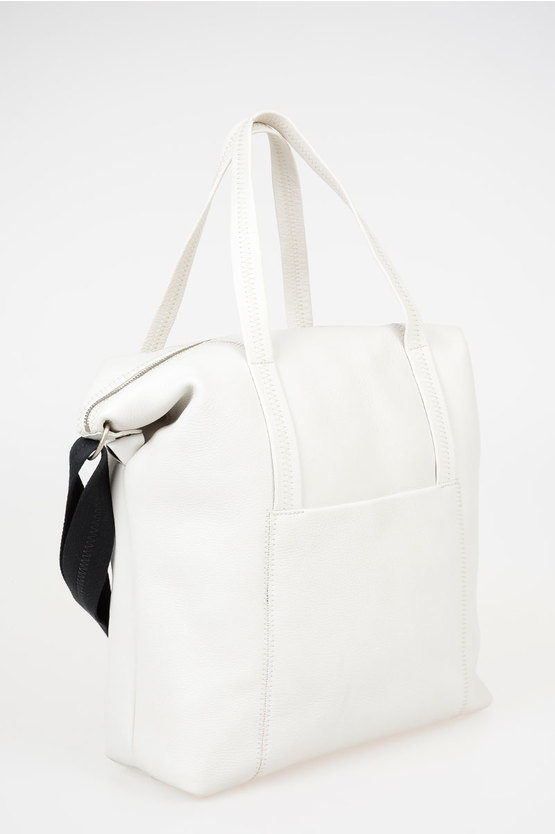 MM11 Leather Tote Bag