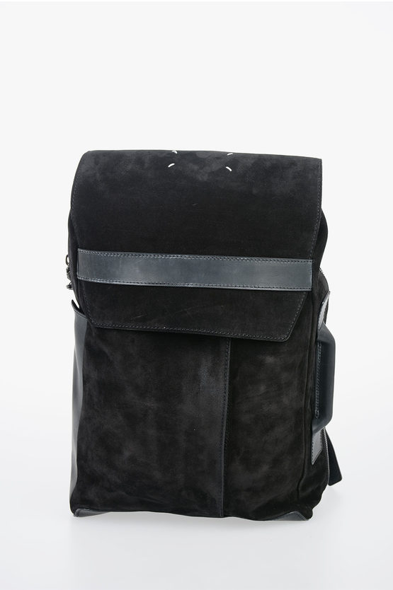 MM11 Suede Leather Backpack