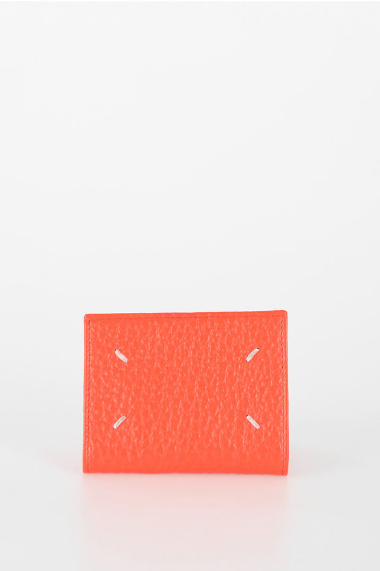 MM11 Textured Leather Mini Wallet