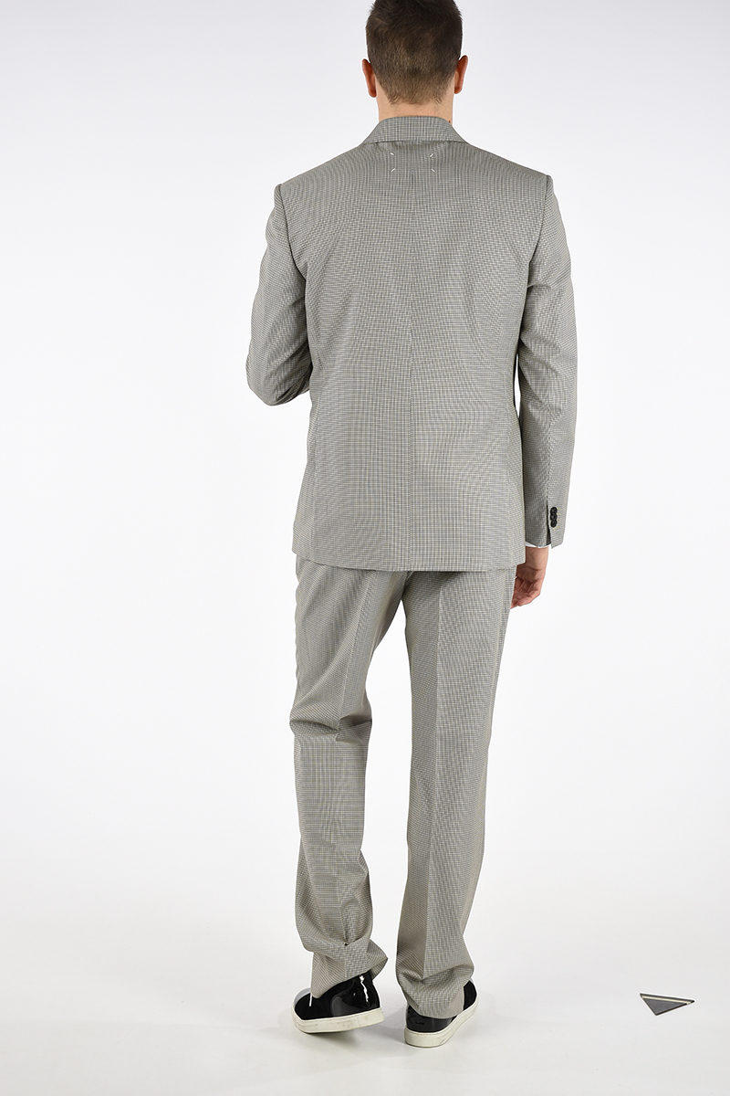 a3288b1c8b MM14 Virgin Wool Blend Single Breasted Suit