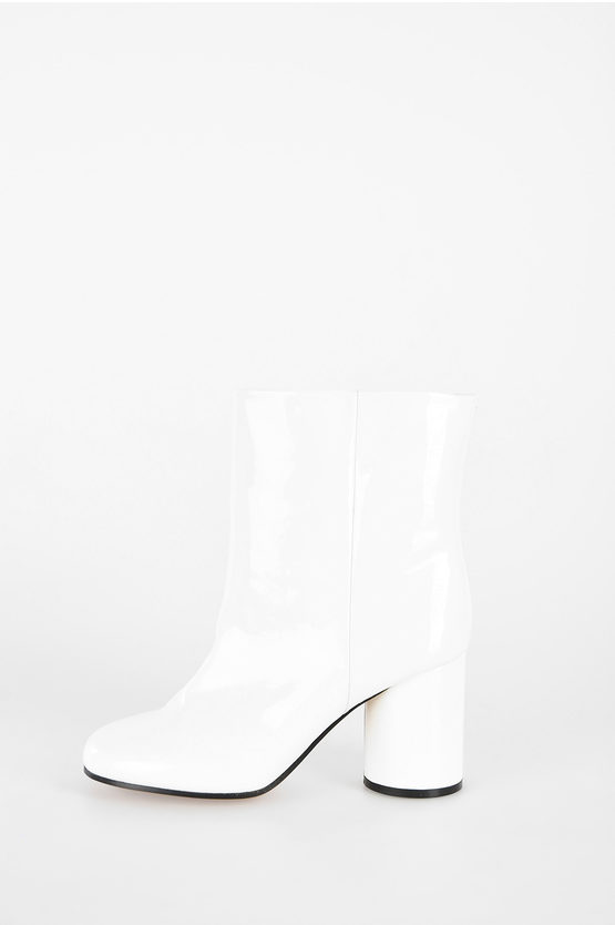 MM22 10 cm Leather Ankle Boots