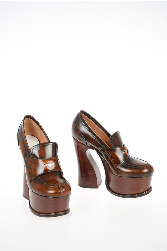 MM22 12cm Leather Loafers