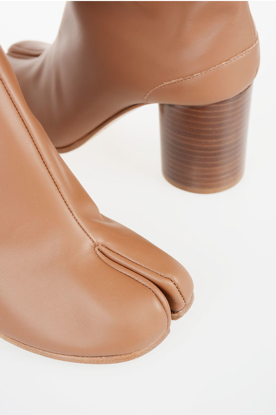 MM22 6cm Leather Ankle Boot