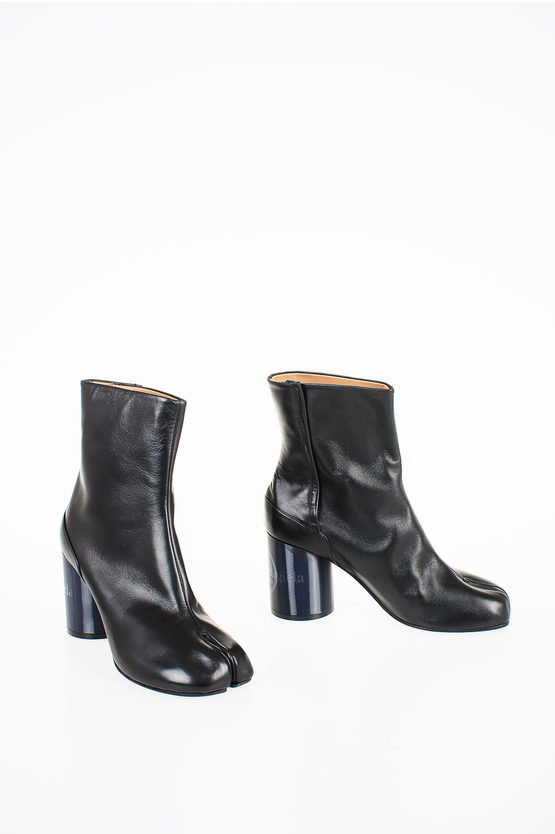 MM22 8cm Leather Ankle Boot