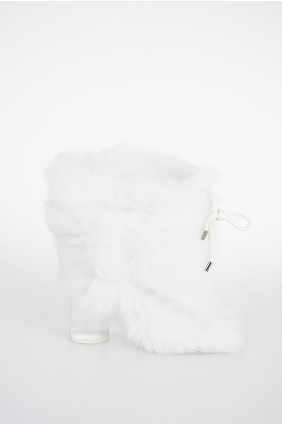 MM22 8cm Real Fur Ankle Boot