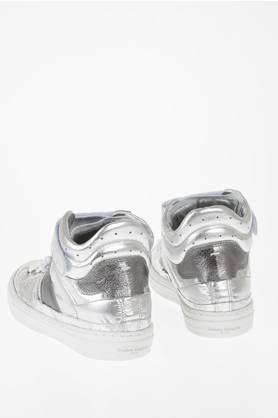 MM22 Fabric and Leather Sneakers
