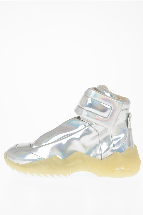 "MM22 Laminate EcoLeather ""FUTURE II"" Sneakers"