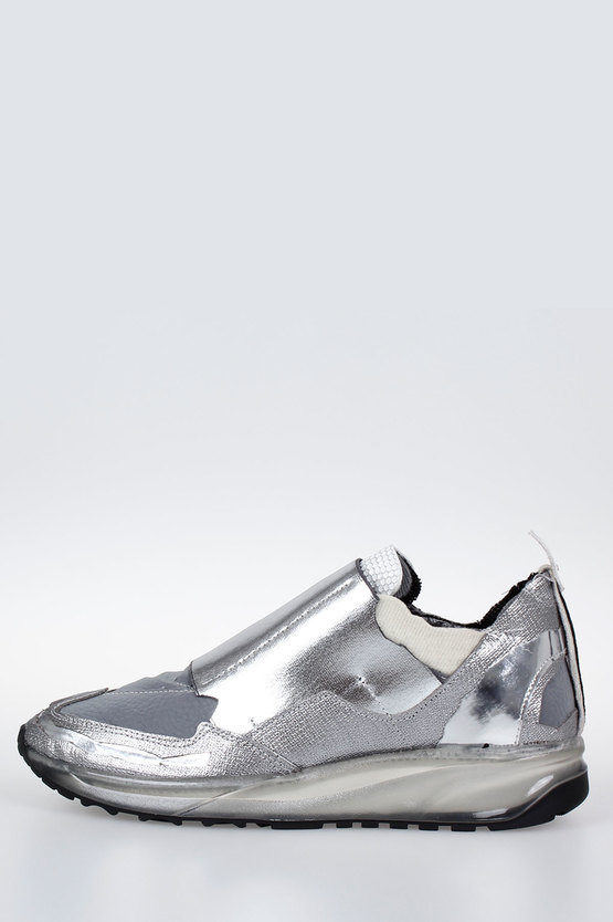 MM22 Leather & Fabric Sneakers