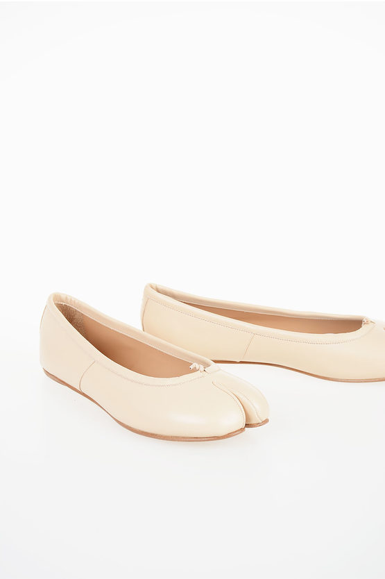 MM22 Leather Ballet Flat