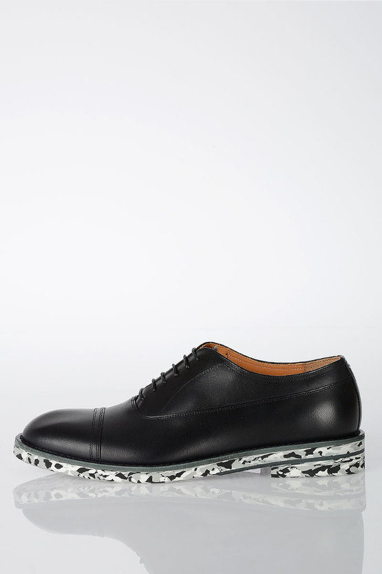 MM22 Leather Oxford Shoes