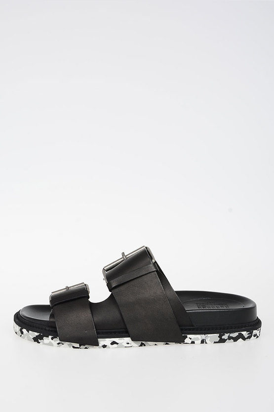 MM22 Leather Slipper Sandals