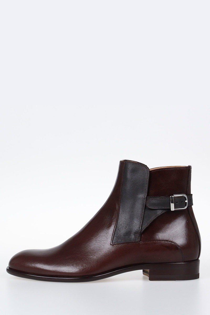 788adfef13974 Maison Margiela MM22 Leather TRUNK Ankle Boots men - Glamood Outlet