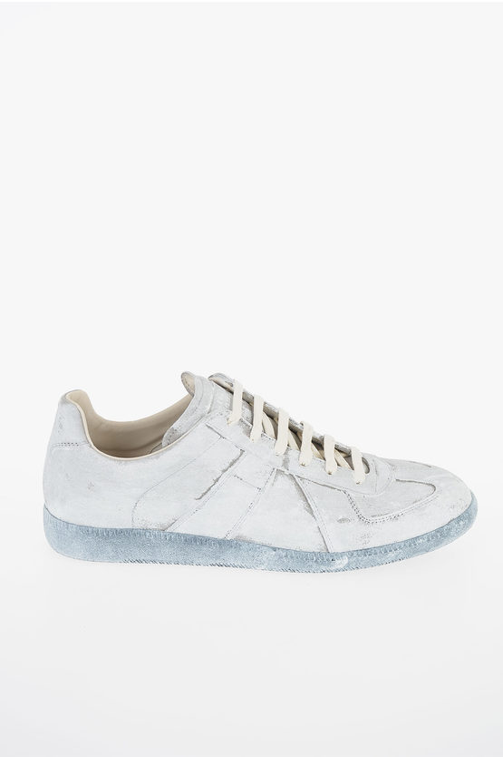 "MM22 Leather ""WHITE ICON"" Sneakers"