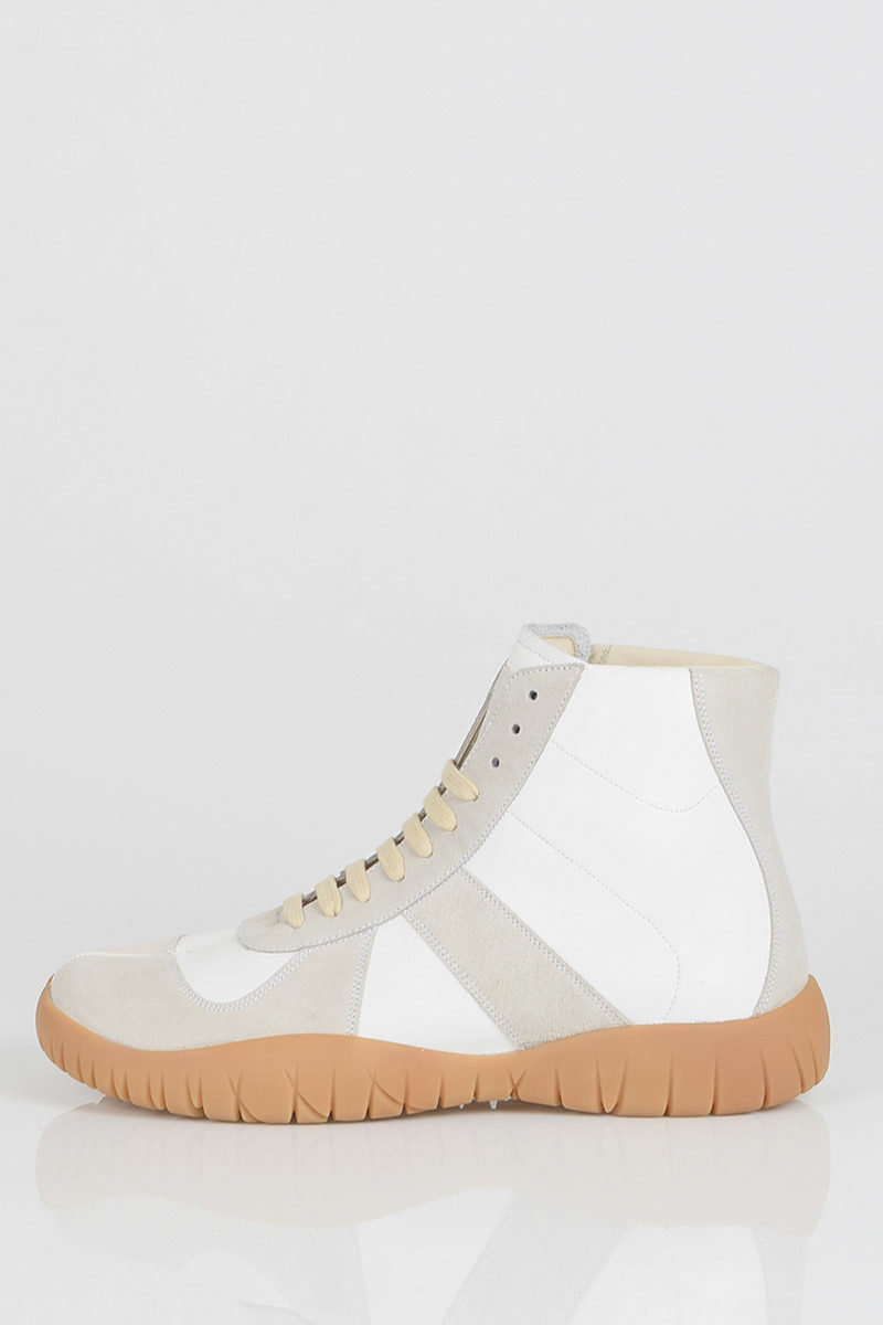 0558226f7e513 Pelle MM22 in Glamood Alte uomo Maison Sneakers Outlet Margiela qX5vxxwT