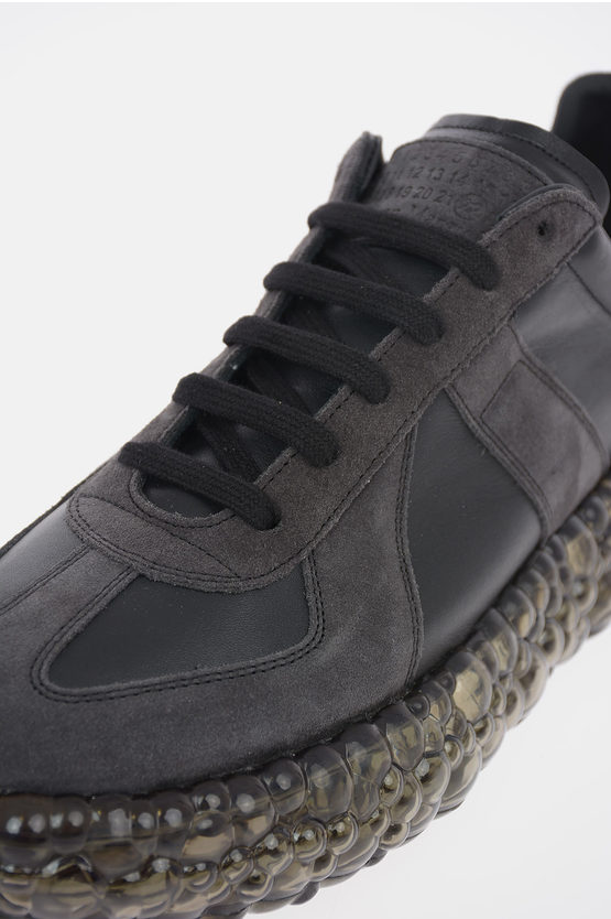 MM22 Suede Leather Sneakers with Caviar Sole