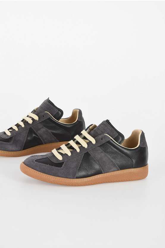 MM22 Suede Leather Sneakers