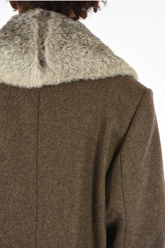 MM4 Coat with real fur