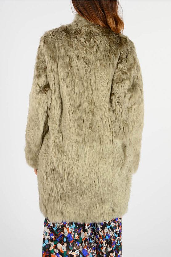 MM4 Real Fur Jacket with Long Sleeve