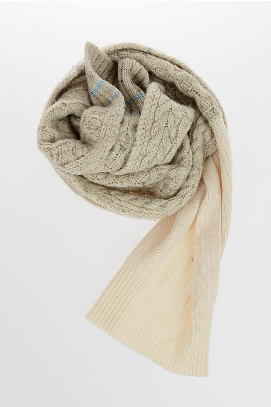 MM4 Wool and Cotton Scarf