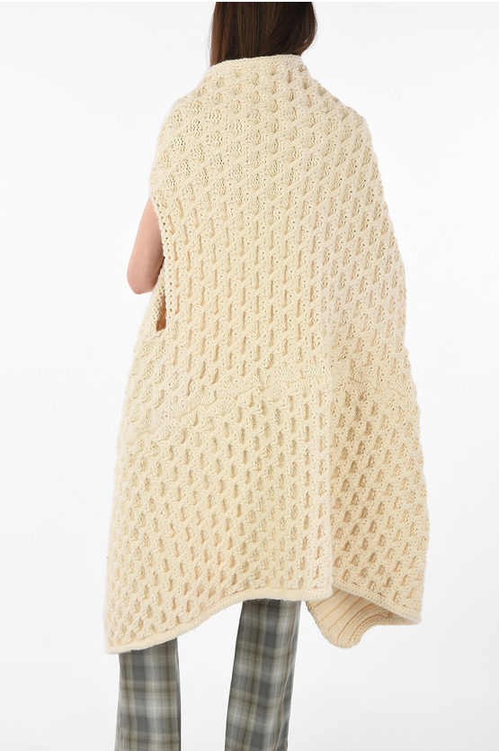 MM4 Wool Knitted Stole