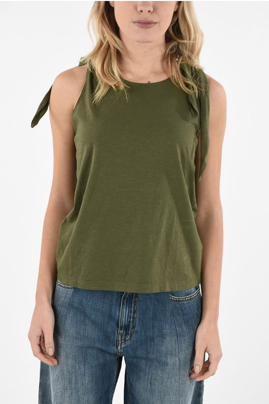 MM6 Tank Top With Bow