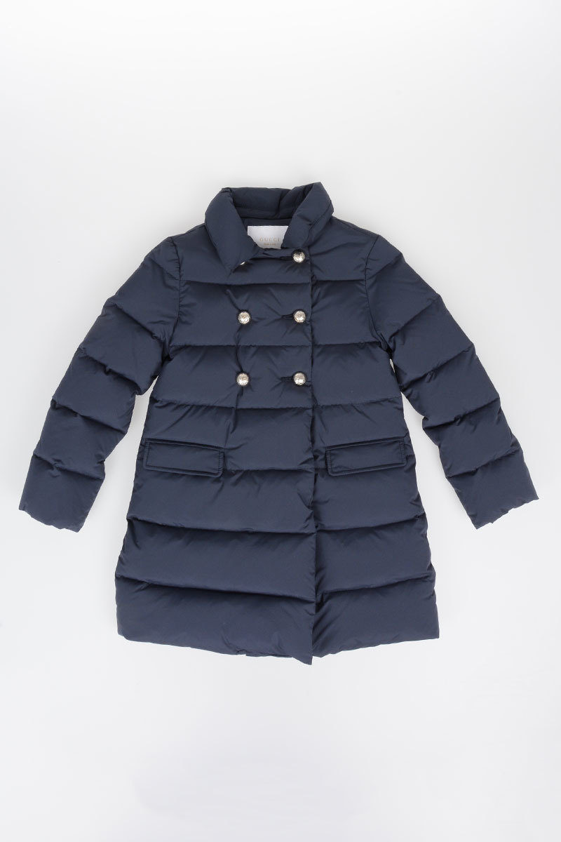 5ce7008ca89 Gucci Kids Nylon Down Jacket girls - Glamood Outlet