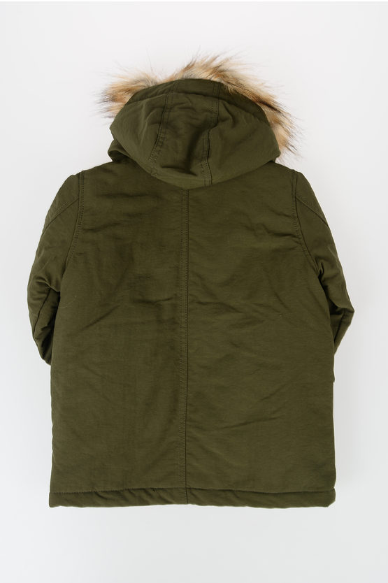 Nylon Hooded JERAX Jacket